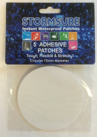 Stormsure patches.